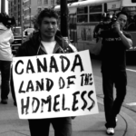 Protesters in Montreal defining their plight