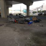 Conditions of Living under the Gardner expressway Toronto