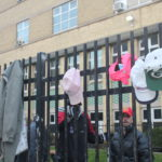 Delivering clothing to seaton House